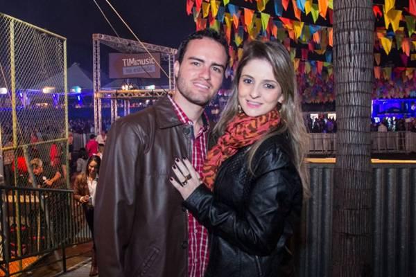 Rodrigo Noleto e Danielle Ribeiro (Romulo Juracy/Esp. CB/D.A Press)