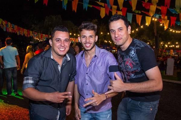 Tiago Rodrigues, Denyer Ferreira e Marcelo Augusto (Romulo Juracy/Esp. CB/D.A Press)