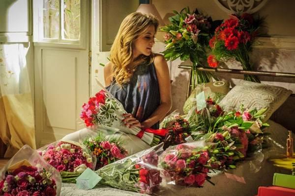 Sofia se prepara para se mudar para Paris (Alex Carvalho/TV Globo)