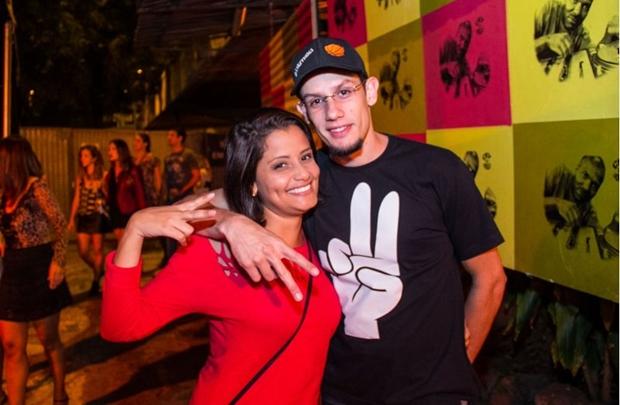 Marina Greco e Welton Oliveira (Rômulo Juracy/Esp.CB/D.A Press)