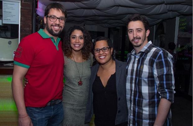 Abiner Gonçalves,Leidiane Boaventura,Luana Sousa e Daniel Mascarenhas (Romulo Juracy/Esp. CB/D.A Press)