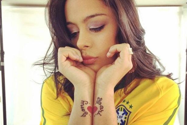 Larissa Riquelme estará presente nos jogos disputados no Brasil ( Instagram/Reprodução)