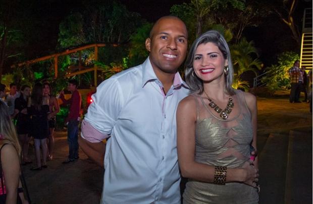Robson Nascimento e Isa Araujo (Romulo Juracy/Esp.CB)