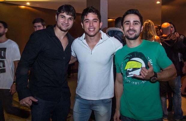 João Paulo Buffon, Alexandre Bianchi e Gabriel Piazzi (Romulo Juracy/Esp.CB)
