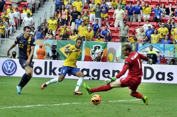 A Seleção Brasileira entra em campo nesta quinta-feira (12/6) (Ronaldo de Oliveira/CB/D.A Press)
