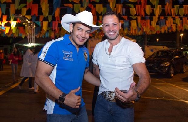André Melo e Paulo Marine (Rômulo Juracy/Esp.CB)