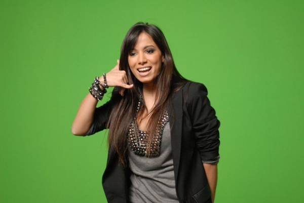 Durante o programa a cantora afirmou estar solteira (Zé Paulo Cardeal/TV Globo)
