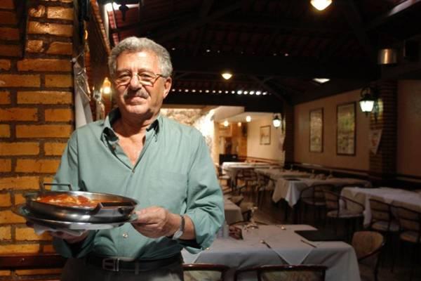 Simon Pitel, dono do restaurante Roma (Zuleika de Souza/CB/D.A Press)