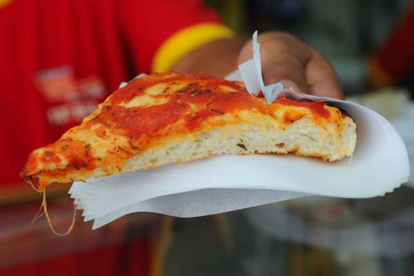 O sabor mais tradicional da rede Dom Bosco é feito à base de tomate e especiarias ( Zuleika de Souza/CB/D.A Press )