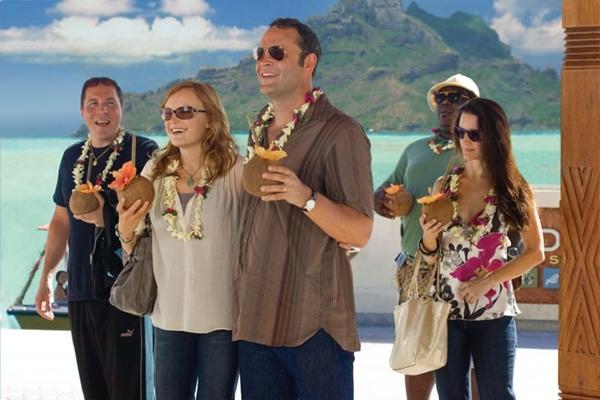 Vince Vaughn e Kristen Bell estão no elenco de 'Encontro de casais' ( Imagemnet/Divulgação)