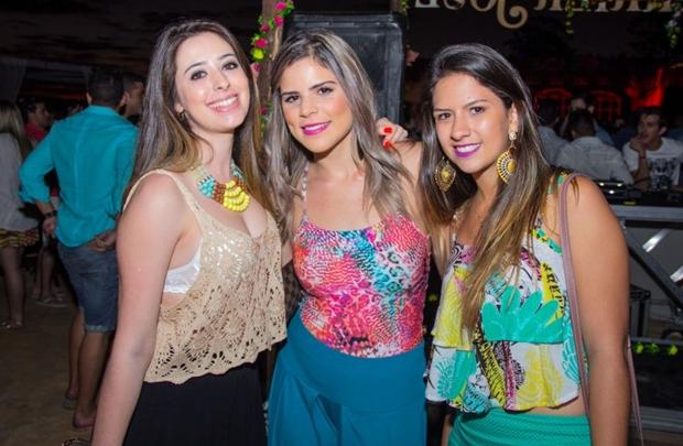 Gabriela Maria, Mariana Gontijo e Gabriela Almeida (Rômulo Juracy/Esp. CB/D.A Press)