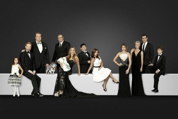 Elenco da quinta temporada de Modern family (Fox/Divulgação )