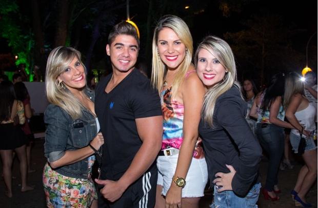 Marília Dias, Leonardo Barbosa, Luciana Miller e Raquel Souza (Rômulo Juracy/Esp. CB/D.A Press)