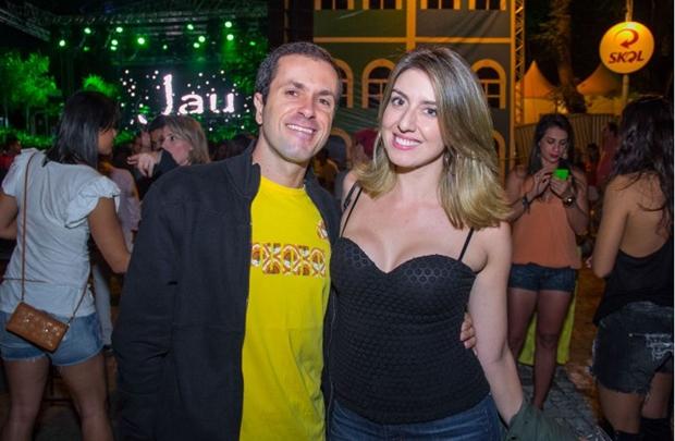 Thiago Brom e Joana Pereira (Rômulo Juracy/Esp. CB/D.A Press)