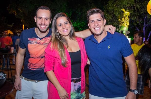 Ismar Neto, Aline Pratera e Bruno Chater (Rômulo Juracy/Esp. CB/D.A Press)