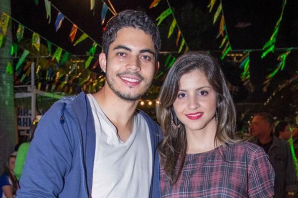 Alain de Souza e Débora Oliveira (Rômulo Juracy/Esp. CB/D.A Press)