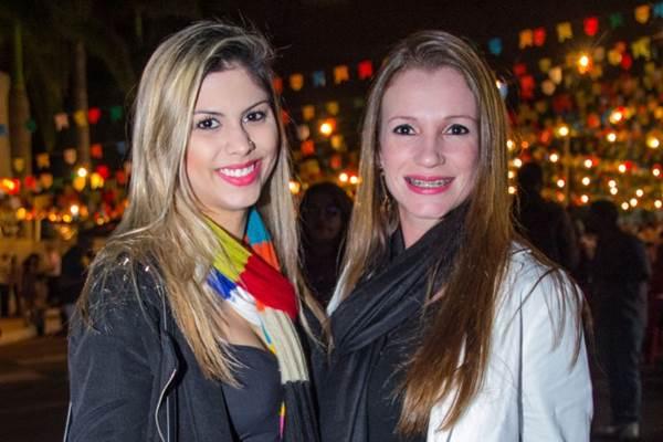 Isabela Ferreira e Cristiane Alves (Rômulo Juracy/Esp. CB/D.A Press)