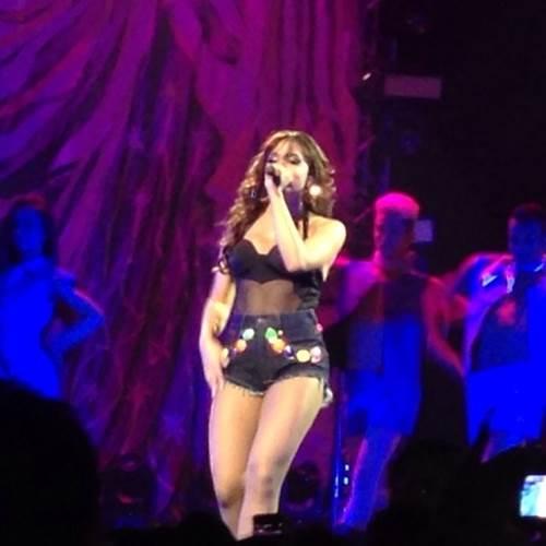 O show da cantora foi realizado no último sábado (Reprodução/Instagram)