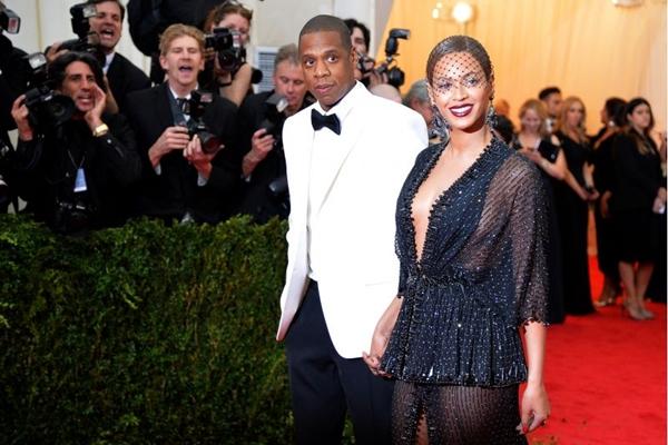 O casal Jay-Z e Beyoncé já são pais de Blue Ivy, de um ano de idade ( Mike Coppola/Getty Images/AFP)