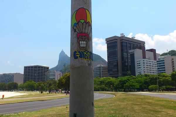 Exposição é o trabalho dos artistas plásticos El Pez e o carioca Rafael Hiran (Divulgação)