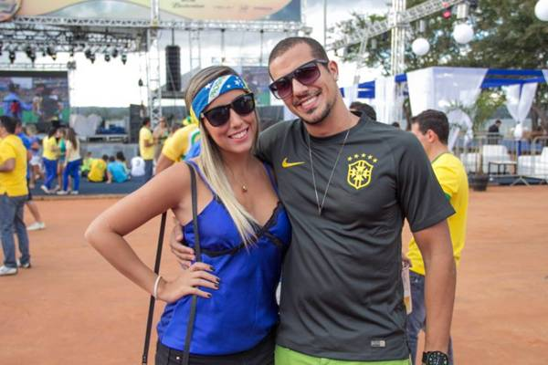 Milena Bites e Igor Lima ( Romulo Juracy/Esp. CB/D.A Press)