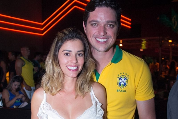 Layanna Azevedo e Isaacky Barros (Rômulo Juracy/Esp. CB/D.A Press)
