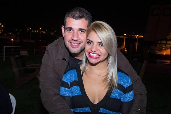 Daniel Albuquerque e Kátia Valadares (Rômulo Juracy/ESP.CB/D.A PRESS)