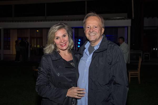 Claudia Abate e Hélio Paes Leme (Rômulo Juracy/ESP.CB/D.A PRESS)