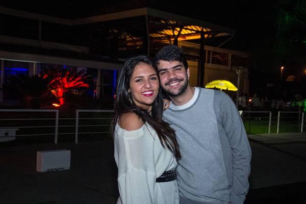 Eduarda Barbinato e Enrique Dorado (Rômulo Juracy/ESP.CB/D.A PRESS)