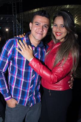 Robson Santos e Ianne Katherine (Rômulo Juracy/Esp. CB/D.A Press)
