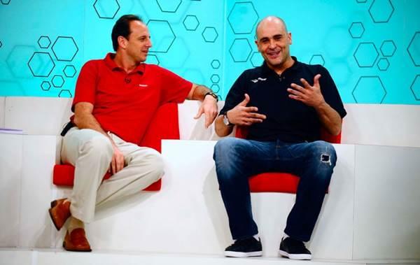 O Bem amigos, da SporTV, recebe jogadores experientes, como Rogério Ceni e Marcos (SporTV/Divulgação)
