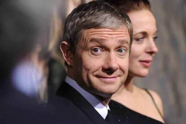 De temperamento difícil, Martin Freeman é conhecido por personagens de humor ácido (Robyn Beck/AFP Photo)