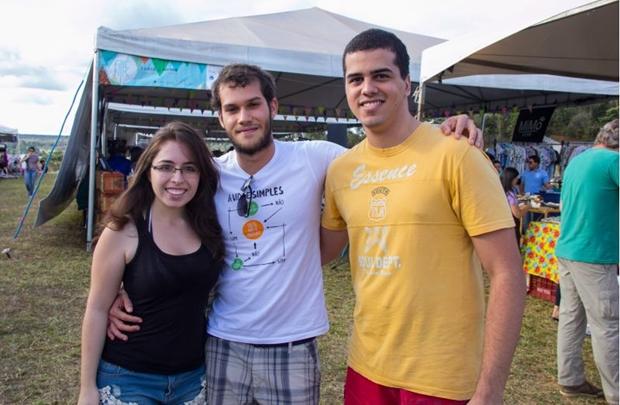 Barbara Giani, Rafael Bertasso e Eduardo Mendes (Romulo Juracy/Esp. CB/D.A Press)
