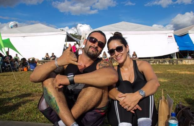 Danylo Murury e Vanessa Oliveira   (Romulo Juracy/Esp. CB/D.A Press)