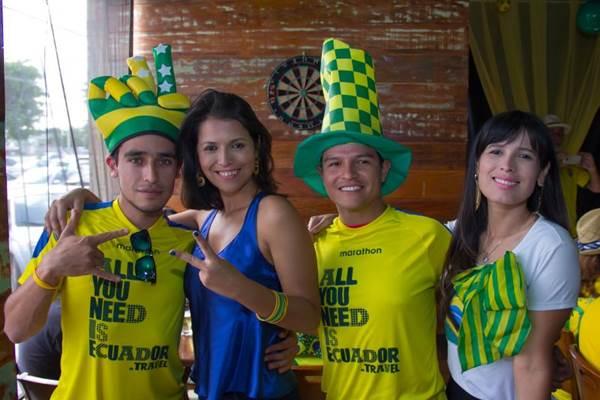 Fernando Ron, Juliana Oliveira, Antonio Ron e Vanessa Oliveira (Rômulo Juracy/Esp. CB/D.A Press)