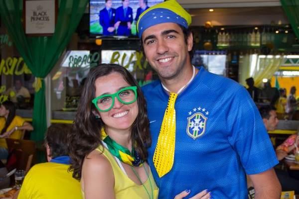 Juliana e Danilo Ramos (Rômulo Juracy/Esp. CB/D.A Press)
