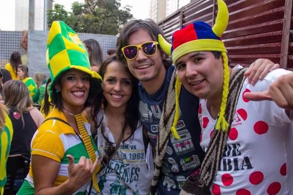 Thayna Castelle, Priscilla Gomide, Carlos Vaderamo e Fred Guarín (Rômulo Juracy/Esp. CB/D.A Press)