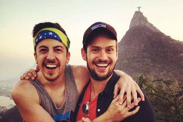 Ator do longa Superbad está no país e curte as paisagens brasileiras (Reprodução/Instagram)