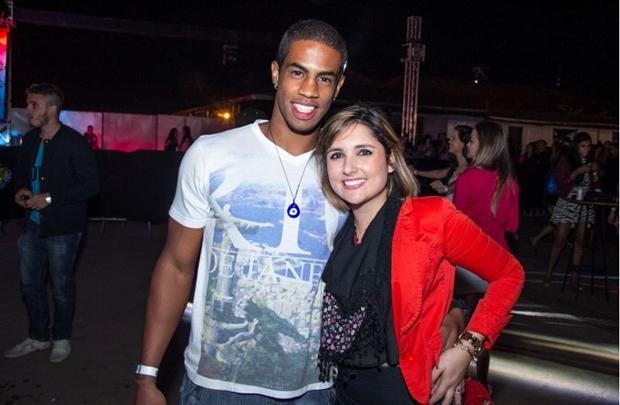 João Felipe da Costa e Mariana Beck  (Romulo Juracy/Esp. CB/D.A Press)