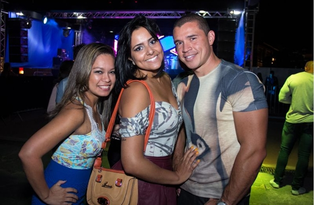 Andressa Rodrigues, Gisele Lucena e Ivan Alves  (Romulo Juracy/Esp. CB/D.A Press)