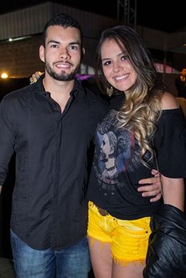 Gabriel Formiga e Larissa Lopes  (Romulo Juracy/Esp. CB/D.A Press)