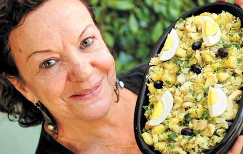 Olga Soares, do Sagres Restaurante, espera os portugueses com delícias (Carlos Vieira/CB/D.A Press)
