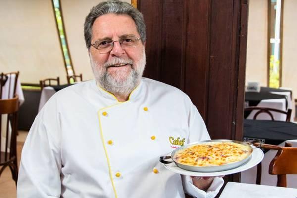 Venceslau Calaf. De dia, as delícias da culinária espanhola; à noite, é a vez dos petiscos (Rener Oliveira/Divulgação)