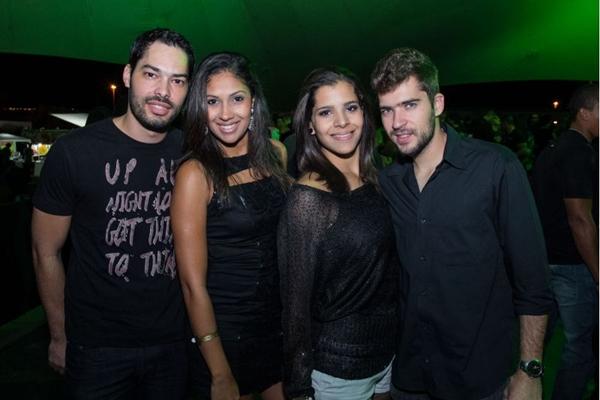 Fernando Pedrosa, Alana Oliveira, Fernanda Barros e Henrique Vasconcelos (Rômulo Juracy/Esp. CB/D.A Press)