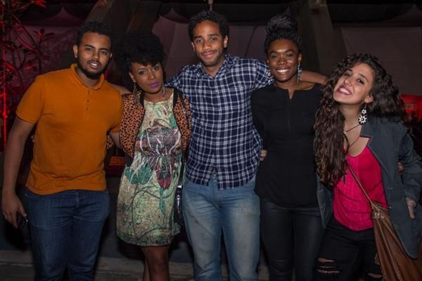 Ammar Hassan, Lucélia Guimarães, Husani Durans, Yala Conceição e Sofia Paz ( Rômulo Juracy/Esp. CB/D.A Press)