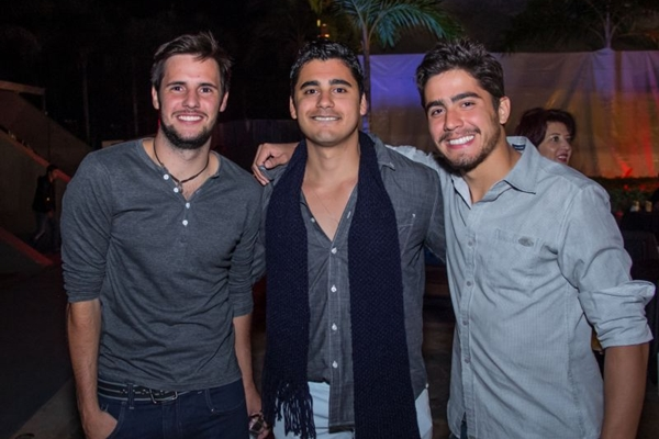 João Brigido, Hugo Baloteli e Rodrigo Cazzola ( Rômulo Juracy/Esp. CB/D.A Press)