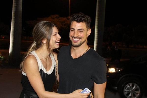 Os rumores sobre o término do casal iniciaram durante as gravações da série Amores roubados (Gil Rodrigues/Esp. Aqui BH/D.A Press)