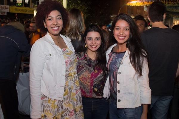 Natasha Nascimento, Laís Machado e Bárbara Mendes (Rômulo Juracy/Esp. CB/D.A Press)