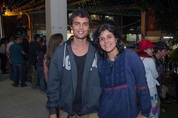 Daniel Batista e Beatriz Faria (Rômulo Juracy/Esp. CB/D.A Press)