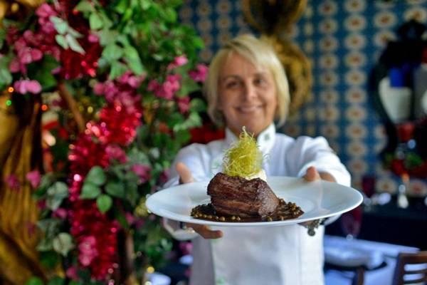 Chef Mara Alcamim viaja aos EUA para se inspirarem  (Gustavo Moreno/CB/D.A Press)